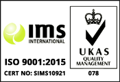 IMS International ISO9001:2015 | UKAS Quality Management